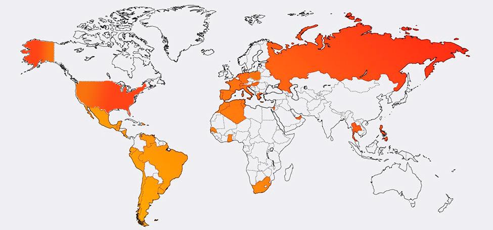 Mapa expansión Autorema